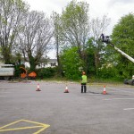 Work site at Norwood Arms, Cheltenham